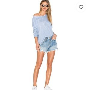 Parker Raw Distressed Destroyed Faded Crop Mom 26